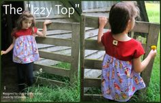 My 3 LittleKiwis: {review} Izzy Top by Climbing the Willow