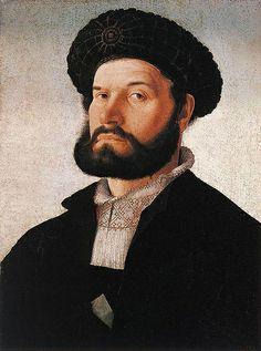Scorel, Jan Van (1495-1562) - 1520c. Portrait of a Venetian Man
