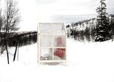 Gartnerfuglen's Portable Fishing Shack Has Walls Made of Ice