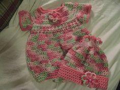 Newborn Romper by Joanne Holt free crochet pattern