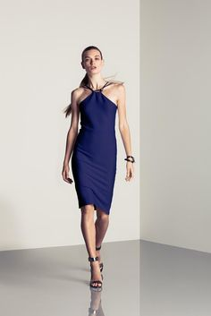 Halston Heritage Spring 2015 Ready-to-Wear - Collection - Gallery - Look 1 - Style.com