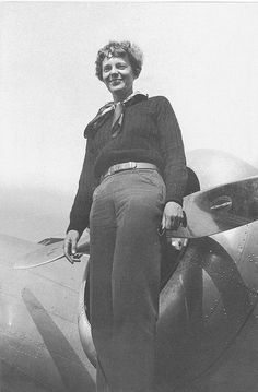 Earhart , Amelia by San Diego Air & Space Museum Archives, via Flickr