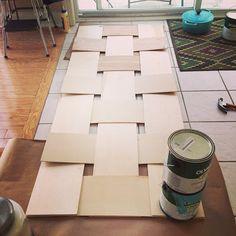 project headboard. {DIY headboard}