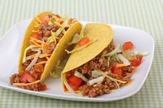 Make your own Taco Seasoning without using the horrible packaged stuff. Mexican Recipe: Delicious Beef Tacos