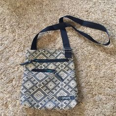 Large woven crossbody Purse fun pattern, lots of space, and an adjustable strap! Like new. Fits an iPad! ;) Dakine Bags Crossbody Bags