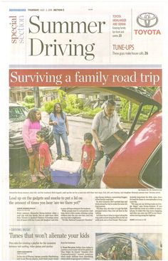 How to Survive a Family Road Trip With #Kids #travel #advice