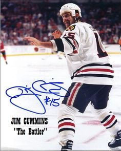 "Jim ""King Kong"" Cummins was one of the most under-rated fighters in the NHL. He is very tough and all Heart. I've not seen too many fighters more willing to go someone simply to protect their teammates. Jim Cummins comes from the old-school: You hit me and I'll hit you back; I'll hit you and you hit me back. Whoever goes down first is the loser. Jimmy doesn't win them all but his arms move like pistons when he gets them loose. Jim King, Nhl Entry Draft, Phoenix Coyotes, Ice Hockey Players, New York Islanders, Tampa Bay Lightning, Colorado Avalanche, Philadelphia Flyers, New York Rangers"