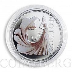 Niue 1 dollar Fashion world Wedding silver color proof coin 2013