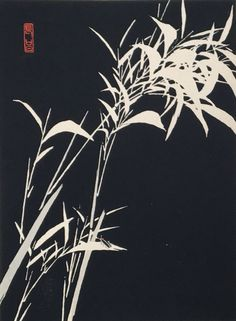 "1934, The original japanese antique woodcut print, ""firefly"", from ""Tansai Gafu"""