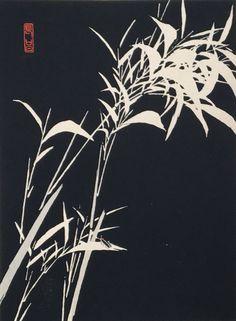 "1934, The original japanese antique woodcut print, ""firefly"", from ""Tansai Gafu"""
