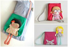 Teeny-Tiny Dolls® & Carry-Me Tote Bag Sets