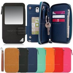 For Samsung Galaxy Note5, Note Edge, Note4, Note3, Note2. Edge Plus Wallet Case(include Handstrap). (You can choose a phone for a case.). | eBay!