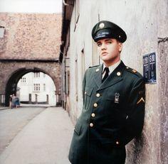 In Army uniform