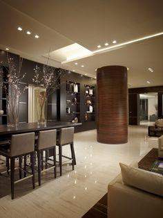 Contemporary Living Room Barry Grossman Photography