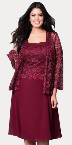 1728362a930 This short A line modest knee length burgundy dress is perfect for mother  of the bride