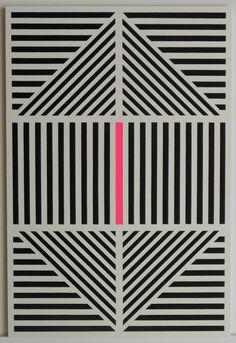 """#art """" Excentrique """". Découpage/collage. 30*20 cm. Papier dessin à grain, papier Vivaldi, papier fluo. Collage sur carton.  un-monde-de-papier.tumblr.com"""
