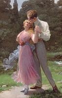vintage couples - Page 6 Vintage Romance, Vintage Love, Vintage Beauty, Couples Vintage, Romantic Couples, Vintage Artwork, Vintage Photos, Caricatures, Bollywood Couples