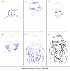 How to Draw Laito Sakamaki from Diabolik Lovers step by step printable drawing sheet to print. Learn How to Draw Laito Sakamaki from Diabolik Lovers Diabolik Lovers Laito, Drawing Sheet, Online Drawing, Boy Poses, Step By Step Drawing, Manga, Learn To Draw, Anime, Printables