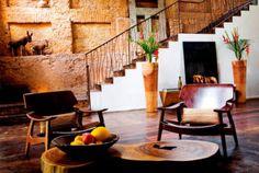 Hotel Santa Teresa Relais & Chateaux ★★★★★ Rio de Janeiro, Brazil - hotel lobby #hotels #RiodeJaneiro