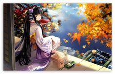 Autumn Anime Scenery wallpaper