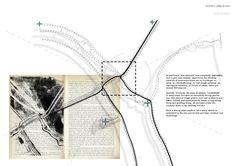 Presidents Medals: Wide Open / Land[s] in Lands Architecture Student Portfolio, Site Analysis Architecture, Architecture Site Plan, Architecture Mapping, Architecture Graphics, Architecture Drawings, Map Diagram, Urban Analysis, Archi Design
