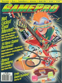 Looking for information on GamePro Issue 10 from May Read more about this magazine at Retromags! Video Game Magazines, Gaming Magazines, Classic Video Games, Retro Video Games, Retro Games, Nintendo Sega, School Games, I Am Game, News Games