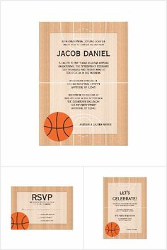 Basketball Themed Bar Mitzvah Suite