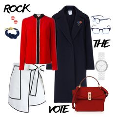 """""""Rocky and a Hard place"""" by falonstarrider on Polyvore featuring DKNY, Henri Bendel, Chicwish, Kenzo, Liz Claiborne, Kate Spade, Corinne McCormack, West Coast Jewelry, outfit and ootd"""