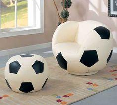 chaise pour garçon ballon