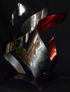 "Abstract Metal Art Sculpture by Dennis Boyd (DB Designs - Creating Metal ""works of art"") Sculpture 5"