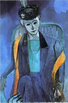 Henri Matisse, Portrait of Mme Matisse.