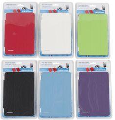 Ipad Mini Magnetische Beschermhoes €13,95  Ipad mini hoes met magnetische verbinding. De hoes is op 3 verschillende manieren om te vouwen en verkrijgbaar in 6 verschillende kleuren.