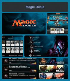 Magic: Duels - This is the best version of Magic:The Gathering game since it was first launched in 2013. Subsequent versions introduced improvements gradually. Some features still missing but at least replayability is high. Free2Play with IAPs. Released on iOS/Windows/Xbox One at the moment. Waiting for Android/PS4 release.