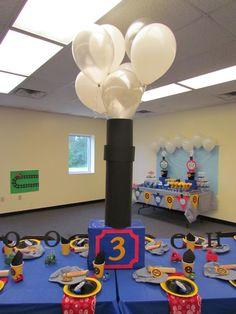 Choo Choo Arron is three! A fun and creative party for a train loving boy!