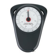 The manual luggage scale is perfect for travelling and has a capability to measure up to 80 lb. or 35 kg. Including measuring tape with both inches and centimeters. ABS material with a metal hook to hang the luggage. Compact design due to extendable handle and storage place on the rear side for the hook.