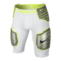 Nike Pro HyperStrong 3.0 Hard Plate Men's Football Shorts Size Medium (White) - Clearance Sale