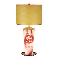 Movie Room Table Lamp