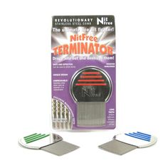 Nit Free Terminator Lice Comb, Professional Stainless Steel Louse and Nit Comb for Head Lice Treatment, Removes Nits Cradle Cap Treatment, How To Get Rid, How To Remove, How To Treat Lice, Lice Nits, Lice Removal, Best Probiotic, Personal Care, Health