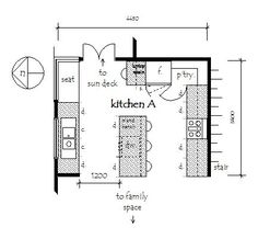 """Acquire wonderful recommendations on """"outdoor kitchen designs floor plans"""". They are actually accessible for you on our internet site. Small Kitchen Floor Plans, Kitchen Cost, Best Kitchen Layout, Kitchen Layouts With Island, Home Design, Floor Plan With Dimensions, Model House Plan, Floor Plan Layout, Outdoor Kitchen Design"""