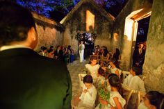 Civil ceremony at the Chapel
