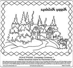 Example_Template for white on Vellum3 PCA Embossing Parchment Templates TP3220E - TP3250E