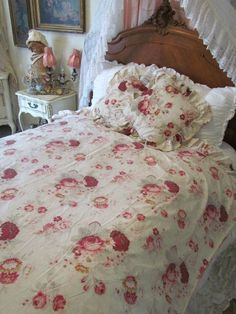 Vintage Ticking Stripe Duvet Cover & Sham Pottery Barn