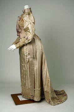 Dress  Redfern (1847–1940)  Date: ca. 1892 Culture: American Medium: silk, cotton