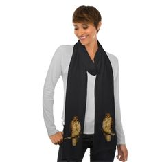 Red Tailed Hawk Scarves