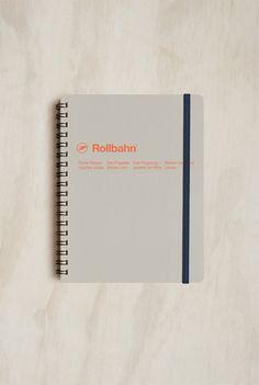 Delfonics - Rollbahn Spiral Notebook - Large (14x18cm)