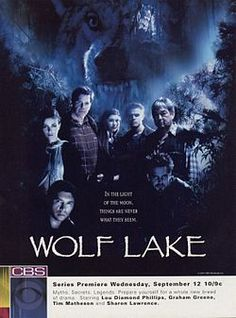 Wolf Lake, this series only lasted long enough to get me addicted, it made me mad when it was cancelled.