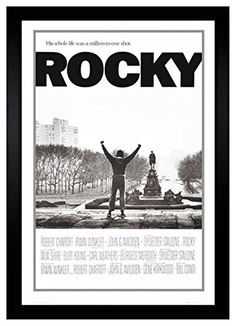 "Rocky Balboa Million To One Shot 24"" x 36"" Framed Movie Poster (C2-1016)"