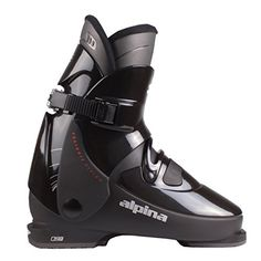 Alpina R4 Rear Entry Ski Boots Black 25.5 >>> Read more reviews of the product by visiting the link on the image.