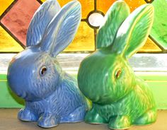 Sylvac Bunnies - Happy Easter!