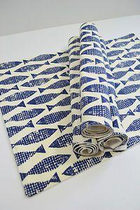 Scion-Retro-Fish-Scandinavian-Fabric-Table-Placemats-Samaki-Blue